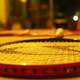 Closeup of Tennis Racket