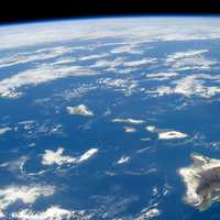 Hawaii from Space in 2014