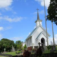 St. Augustine's Episcopal Church in Kapaau, Hawaii