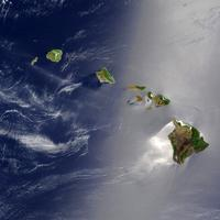 True Color of Hawaii from Space