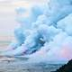 Volcanic Cloud at Kalapana, Hawaii, United States