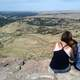 Mother and Daugher looking at Boise from Table Rock in Idaho