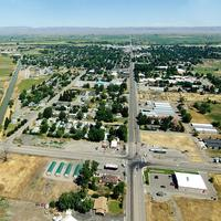 Aerial View of Gooding, Idaho