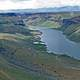 Landscape of the Snake River Valley in Idaho