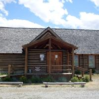 Log Chapel in Stanley, Idaho