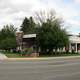Panorama of downtown Gooding, Idaho