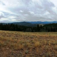 Storm Clouds over Haystack Peak in Caribou Targhee National Forest