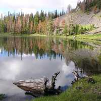 White Goat Lake landscape in Idaho