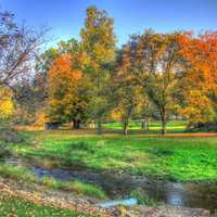 Autumn Landscape at Apple River Canyon State Park, Illinois