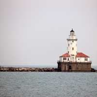 Lighthouse in Chicago, Illinois