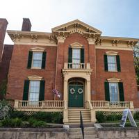 Historic House in Galena, Illinois