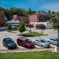 Parking lot in Galena