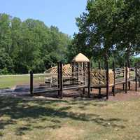 Playground at Horse lake State Park, Illinois