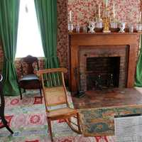 Lincoln's Living Room at Lincoln Home in Springfield, Illinois