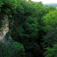 Canyon View at Starved Rock State Park, Illinois