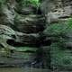Waterfall from the Canyon at Starved Rock State Park, Illinois