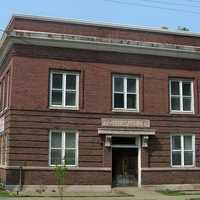 Miller Town Hall building in Gary, Indiana