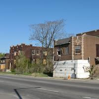 West Fifth Avenue Apartments Historic District in Gary, Indiana