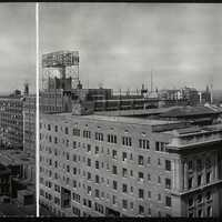 1914 panorama of downtown Indianapolis, Indiana
