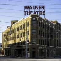 Madame Walker Theatre Center in Indianapolis, Indiana