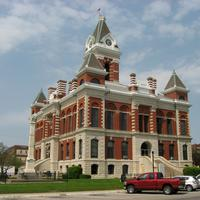 Gibson County Courthouse in Princeton, Indiana