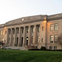Daviess County courthouse in Washington, Indiana