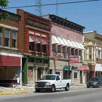 Downtown Historic District in Clinton, Indiana