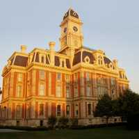 Hamilton County Courthouse in Noblesville, Indiana