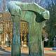 Henry Moore's Arch in Columbus, Indiana