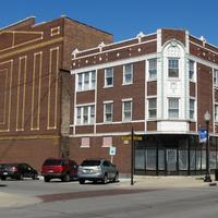 Hoosier Theater Building in Whiting, Indiana