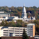 Looking at the skyline of Lafayette, Indiana