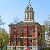 Marshall County courthouse in Plymouth, Indiana
