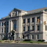 Michigan City Courthouse in Indiana