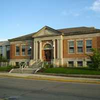 Putnam County Public Library in Greencastle, Indiana