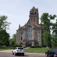 Starke County Courthouse in Knox, Indiana