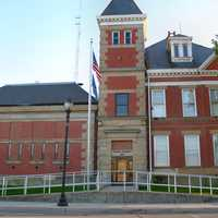 Tipton County jail in Tipton, Indiana