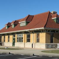 Visitor Center for Cardinal Greenway in Muncie, Indiana