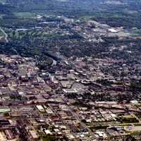 Cityscape Overview of South Bend, Indiana