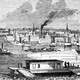Davenport in 1865 in Davenport, Iowa