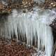 Icicle Sheet at Pikes Peak State Park, Iowa