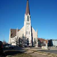 Our Lady of Lourdes Catholic Church in Pittsburg, Kansas