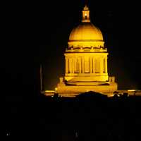 Kentucky State Capital at Night in Frankfort