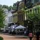 Looking at Downtown Frankfort, Kentucky