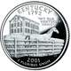 2001 commemorative quarter in Kentucky