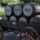 Barrels of Whiskey in a Cart
