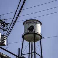 Buffalo Trace Distillery Water Tower in Kentucky