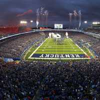 Commonwealth StadiumThe University of Kentucky football team
