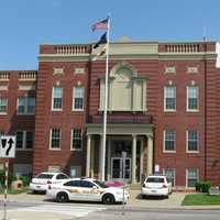 Hardin County Courthouse in downtown Elizabethtown, Kentucky