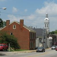 Main Street in Nicholasville, Kentucky