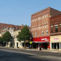 North Main Street in Henderson, Kentucky